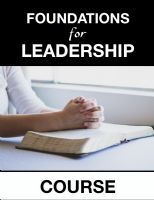 Foundations for Leadership